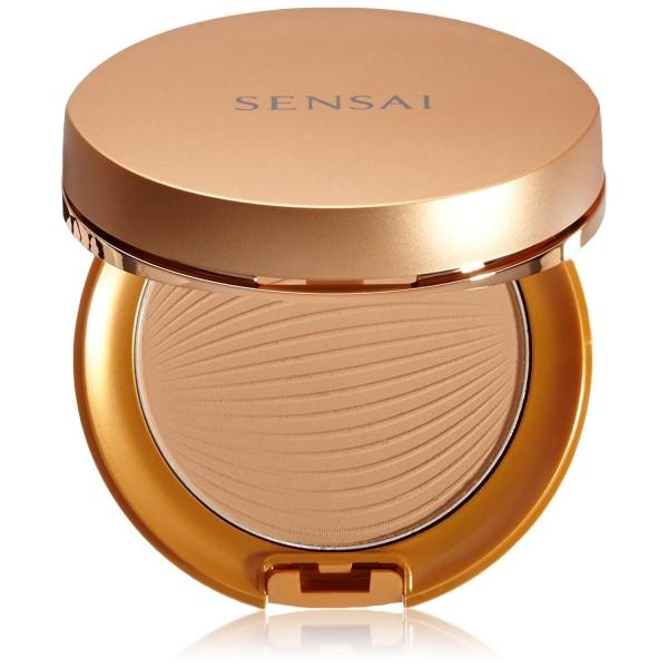 Kanebo sensai bronzing foundation sun protective sc01 8 5gr