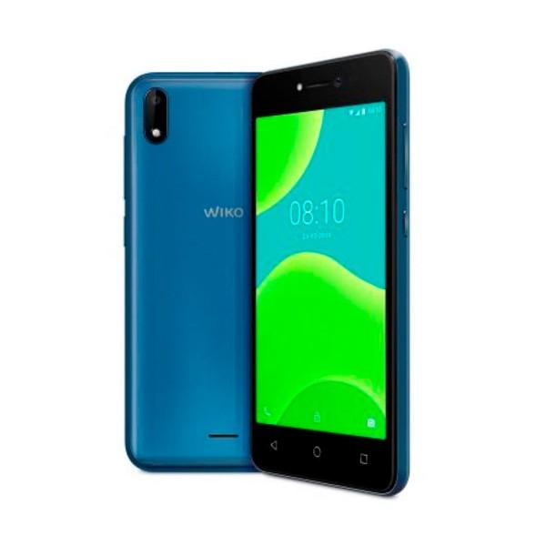 Wiko y50 azul móvil 3g dual sim 5'' tn fwvga/4core/16gb/1gb ram/5mp/5mp