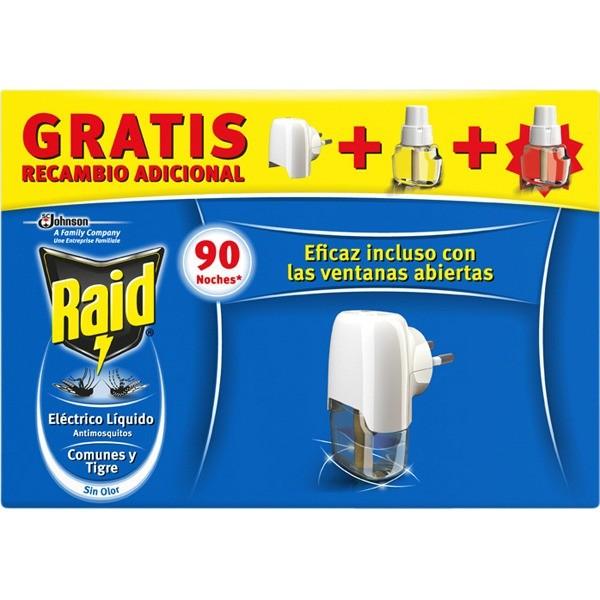 Raid Antimosquitos 2 recambios