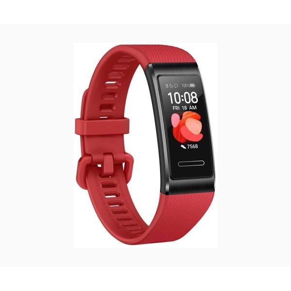 Huawei band 4 pro rojo pulsera monitor de actividad inteligente entrenamiento trusleep 2.0