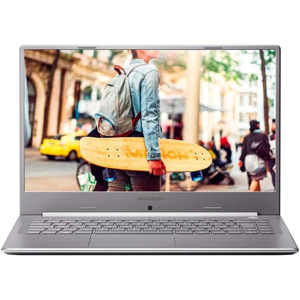 Medion e6247 md62006 plata portátil 15.6'' fullhd cel-n4020 512gb ssd 8gb ram windows 10 home