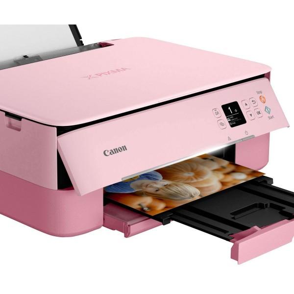 Canon pixma ts5352 rosa/ impresora multifunción inalámbrica/