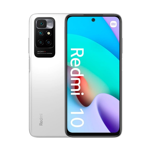"Xiaomi redmi 10 blanco (pebble white) / 4+128gb / 6.5"" 90hz / dual sim"